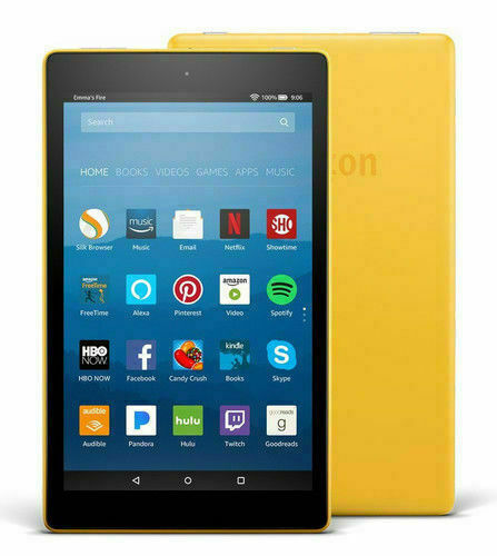 Fire Hd 8 16gb Tablet Canary, Can Kindle Fire Hd 8 Screen Mirror