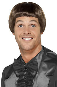 Brand New 90s Famous Bowl Cut Wig Brown