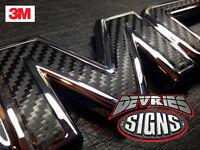 Domed & Non-domed Gmc Yukon Individual Emblem Overlays 3m™ Denali Grill Or Rear