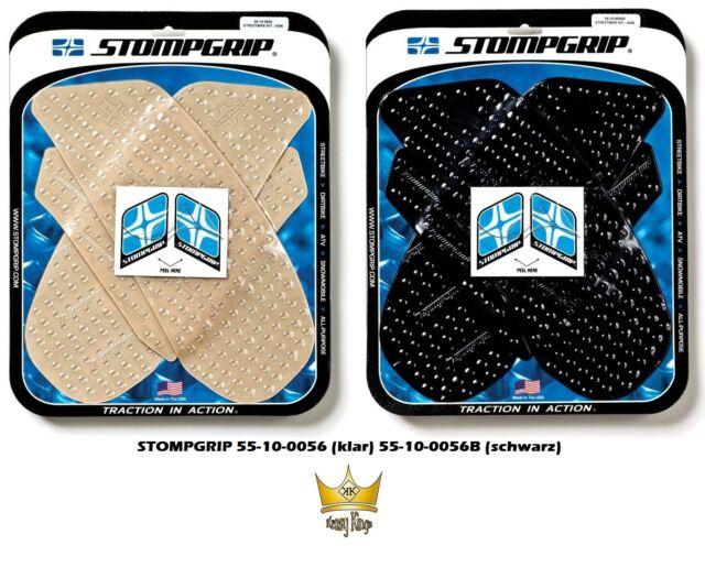 Stompgrip Traction Réservoir Tapis Suzuki GSX-R1000 Année Fab. 09-16 Clair Noir