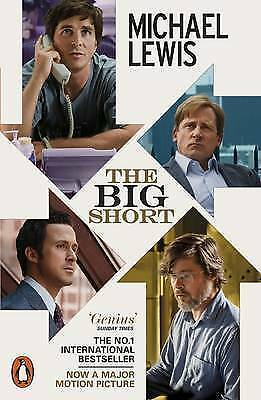 1 of 1 - THE BIG SHORT MICHAEL LEWIS (MOVIE TIE-IN-EDITION) LIKE NEW, FREE SHIPPING