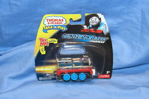 Thomas-amp-Friends-Light-Up-Racer-Thomas-Take-n-Play-Train-Engine-Dead-Battery