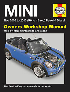 mini haynes manual repair manual workshop manual service manual 2006 rh ebay co uk Instruction Manual 2006 mini cooper s convertible owners manual