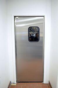 24 X84 Stainless Steel Door New Commercial Traffic Doors