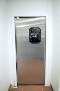 Details About 30 X 84 Stainless Steel Restaurant Kitchen Doors New Swinging Traffic Doors