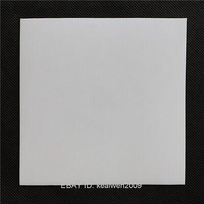 New Virgin Teflon PTFE Plastic Sheet 150mm x 150mm x 10mm Panel sealing bearing