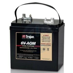 TROJAN-BATTERY-6V-AGM-RECHARGEABLE-200-Ah-EACH