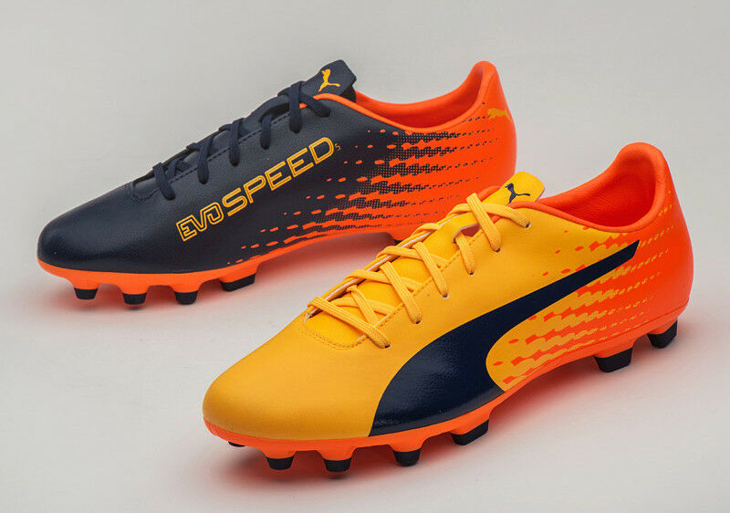 Puma evoSPEED 17.5 AG (10402503) Soccer Schuhes Football Cleats Stiefel