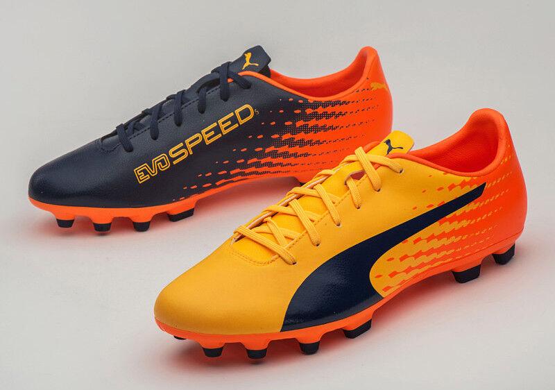 Puma Evospeed 17.5 AG (10402503) fútbol Zapatos botas De Fútbol Tacos