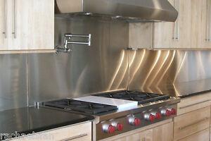 Terrific Details About Stainless Steel Backsplash 1X 16 Brushed Finish Transition Strip 4 Backsplash Download Free Architecture Designs Intelgarnamadebymaigaardcom