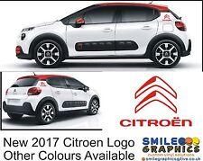 New 2017 Citroen Logo Stickers Graphics Decals c1 c3 c4 cactus picasso Bagde