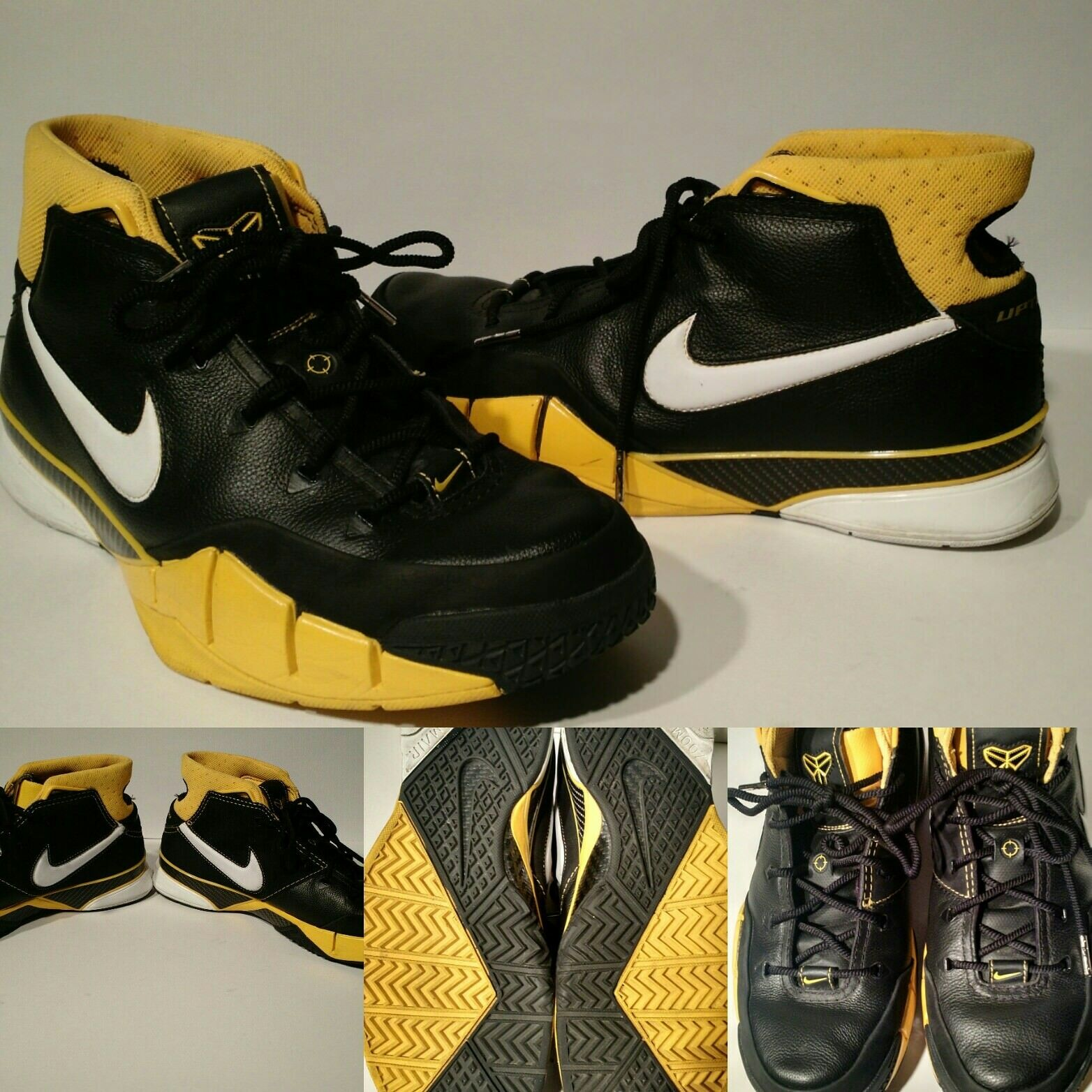 Kobe Kobe Kobe Bryant 1 (Del Sol) SZ 10 2006 OG Uptempo Lakers Mamba 0a6e30