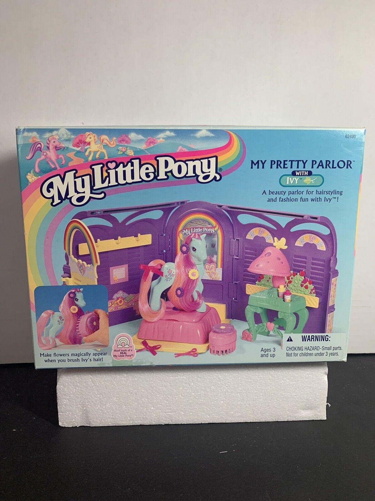 My Little Pony Ivy S Beauty Parlour Hasbro 1998 For Sale Online Ebay