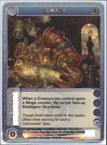 Super Rare Foil Random Stats Ulmar Chaotic Card