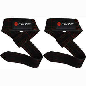 Pure2Improve-Buffalo-Leather-Lifting-Straps-Yoga-Exercise-Stretch-Fitness