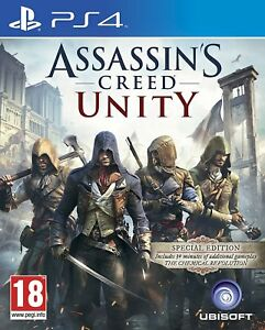 Assassin-039-s-Creed-Unity-Special-Edition-PS4-original-game-mint