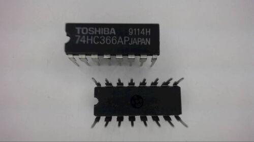 TOSHIBA 74HC366AP 16-Pin Dip High Speed CMOS New Lot Quantity-5