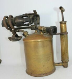 Max-Sievert-Model-HLLB-brass-blow-lamp-torch-vintage-antique