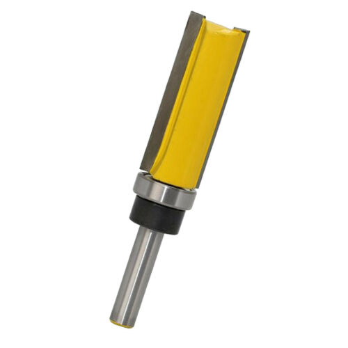 """8mm Shank Wood Milling Cutter Slotted Trimming Router Bits 3//4/"""" Cutting Dia."""