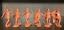 miniature 2 - Soldatini e figurini di Publius Antichi Greci Spartani  Plastica gommata morbida