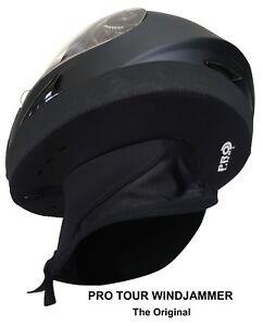 WINDJAMMER-2-PRO-TOUR-Long-Distance-Helmet-Wind-Blocker-Free-Delivery