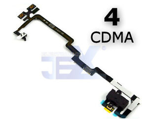Headphone-Flex-Cable-for-Iphone-4-CDMA-Volume-button-Silent-Switch-Mic-A1349