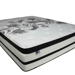 """BROCKVILLE MATTRESS SALE - QUEEN SIZE 2"""" PILLOW TOP MATTRESS FOR $199 ONLY DELIVERED TO YOUR HOUSE Brockville Ontario Preview"""
