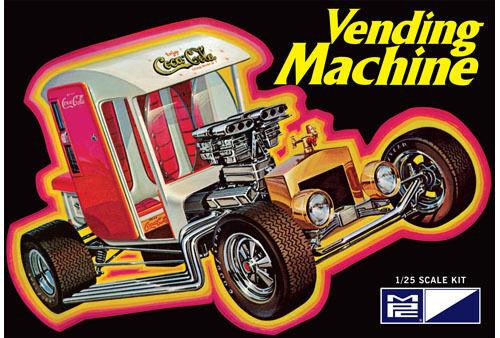 MPC 871 Coca-Cola Vending Machine Show Rod plastic model kit 1//25