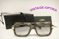 Cazal 607/3 Sunglasses 607 Leather Snakeskin Legend Gray Black 602 Authentic