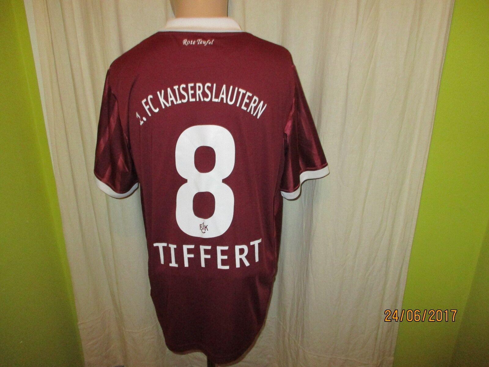 1.FC Kaiserslautern Original DoYou Football Trikot Trikot Football 2010/11 + Nr.8 Tiffert Gr.XL a21abf