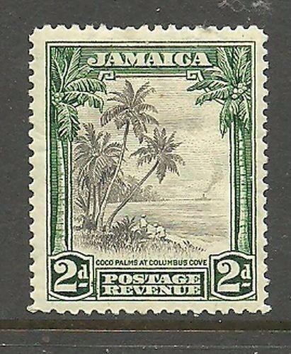 Album Treasures Jamaica Scott # 106 2p Coco Palms Mint Hinged
