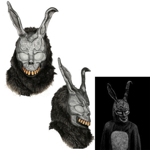 Donnie Darko Bunny Mask Rabbit Ear Helmet Cosplay Costume Props Party Adult New