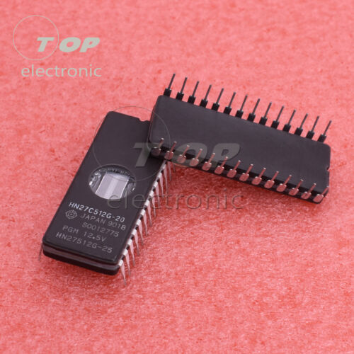 1PCS//5PCS HN27C512G-20 HN27C512G CDIP 28 x8 EPROM Hit IC