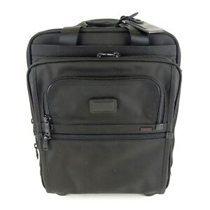 """Tumi Alpha Black Business Wheeled Carry On 18"""" 26126DH Excellent Condition"""