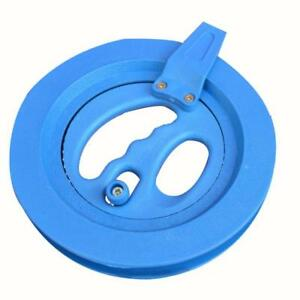 Kite-Line-Winder-Winding-Reel-Grip-Wheel-with-Lines-String-Flying-Tools-Blue