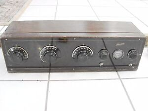 1920-039-s-Cresodyne-Battery-Type-Receiver-Blandin-AAA-Radio-Cabinet-no-tubes