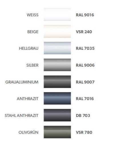 Aussenbeschattung Sonnenschutz Jalousie Aussenjalousie C80 ALU-Raffstore