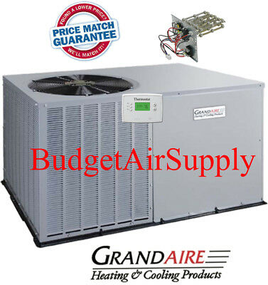 Details About 2 Ton 14 Seer ICP GrandAire Model Heat Pump Package Unit FREE EXTRAS