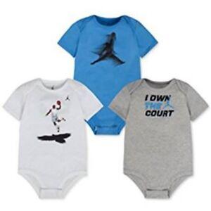 31de147a42e Image is loading Nike-Jordan-Air-Jumpman-Children-Baby-Bodysuit-Set-
