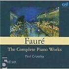 Gabriel Faure - Fauré: Complete Piano Works (2002)