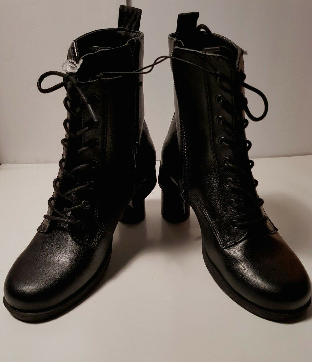 Kendall + Kylie Femmes porter porter porter dentelle, Zip Intérieur démarrage noir 6 M US 859692