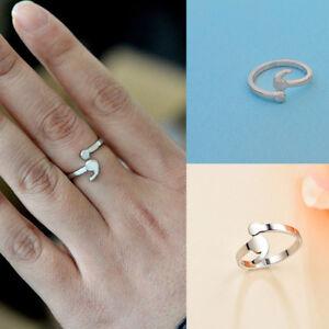 Women-Semicolon-Ring-Adjustable-Ring-Mental-Health-Ring-Inspirational-Jewelry-UK