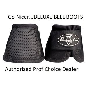 Professional's Choice Pro Performance Deluxe bell boots Medium M Prof Black