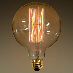 Image Is Loading 1 Large Edison Style E26 Squirrel Cage Filament