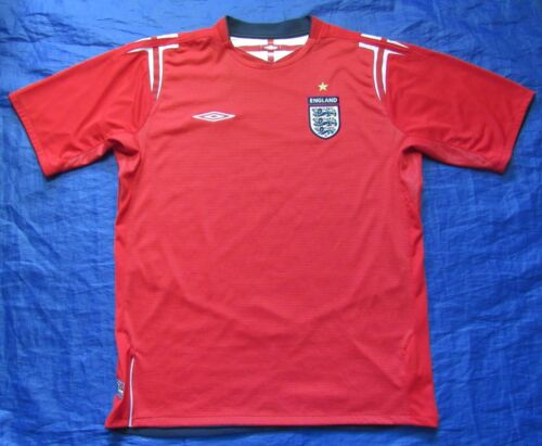 ENGLAND Euro 2004 Away Jersey shirt UMBRO 2006 Sons of Albionadult SIZE L