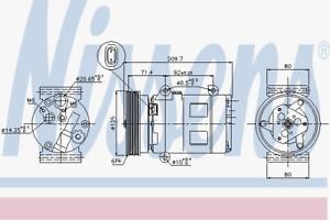 Compressor-Air-Conditioning-Nissens-89072