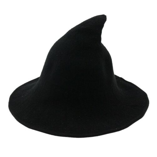 Modern Witch Hat Made From High Quality Sheep Wool Halloween Party Witch Hat#