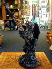 DRAGON SLAYER LETTER OPENER Figure Ornament GOTHIC Desk Top Paper Knife PAGAN