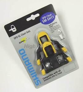 Shimano-SM-SH11-Float-SPD-SL-Road-Bike-Pedal-Cleats