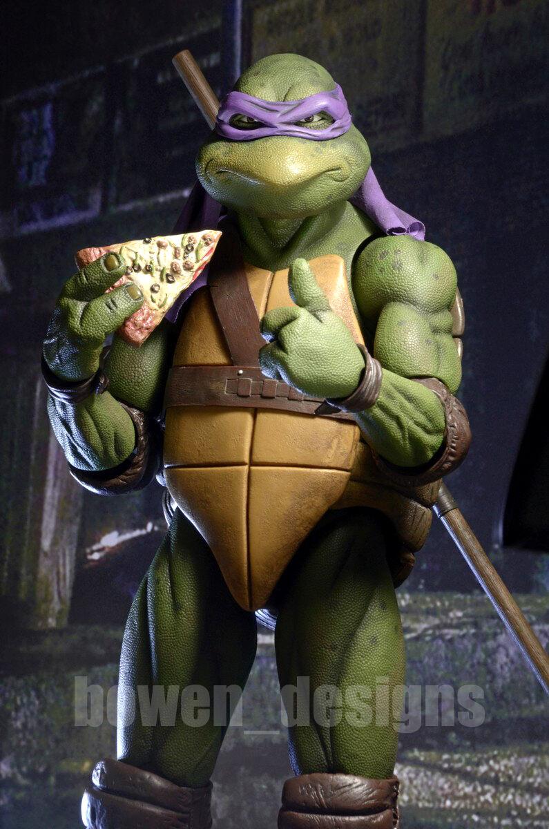 NECA Teenage Mutant Ninja Turtles Movie DONATELLO 1/4 Action Figure TMNT 1990
